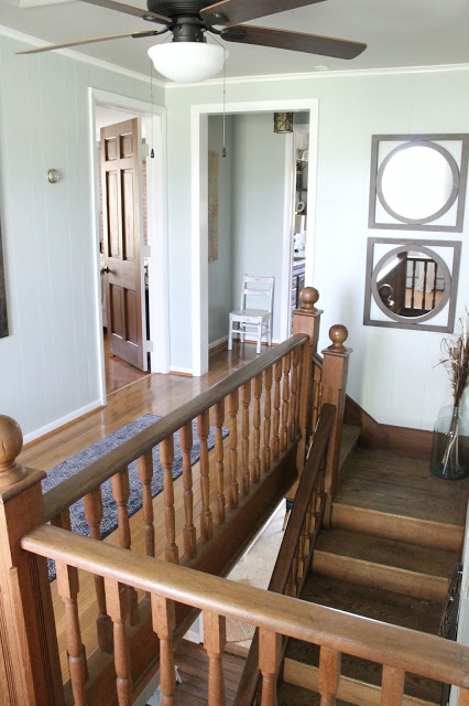 Upstairs Hallway in Farmhouse
