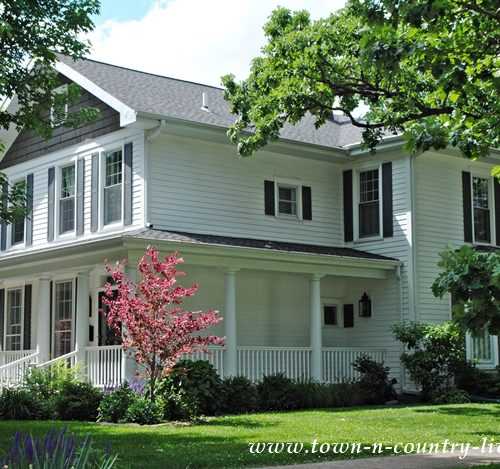 White Historic Home with Wraparound Porch