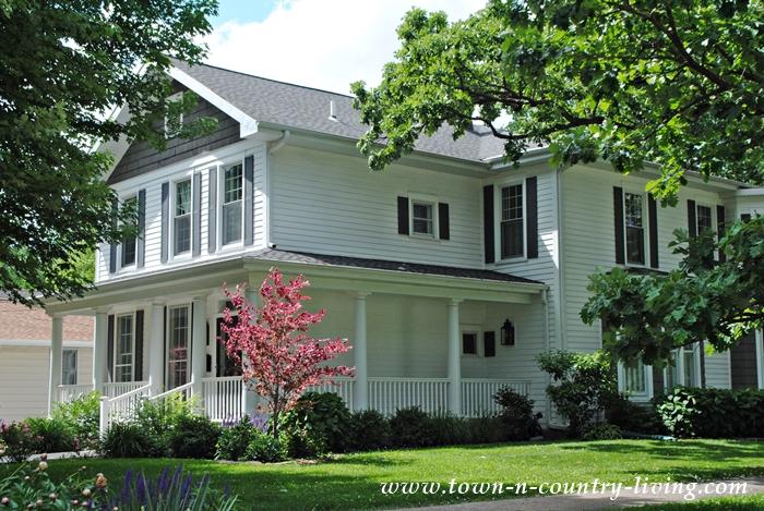 White Historic Home with Wraparound Porch