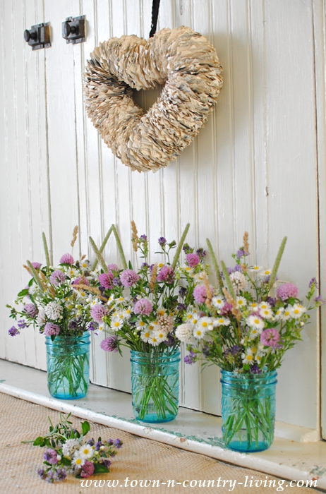 Wildflower Bouquets Are Easy To Make, And Theyu0027re Free!