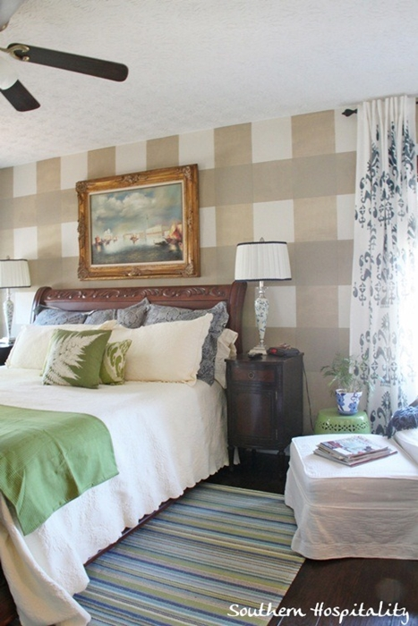 Master Bedroom with Sleigh Bed