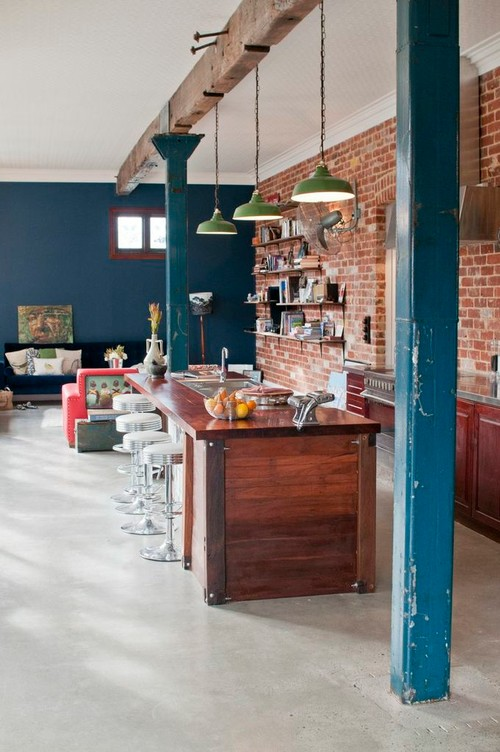 Eclectic Urban Style Kitchen