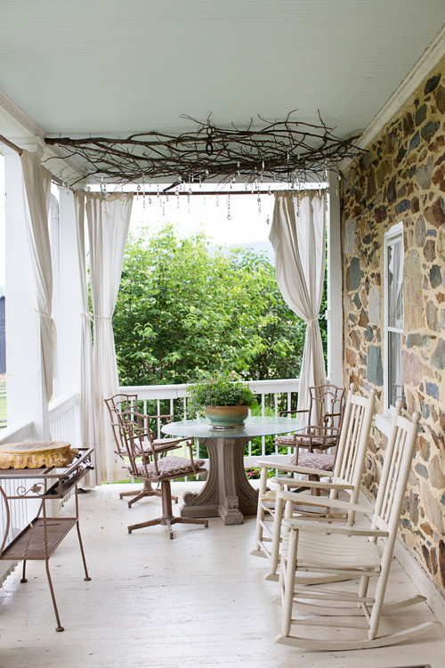 Rustic Farmhouse Porch