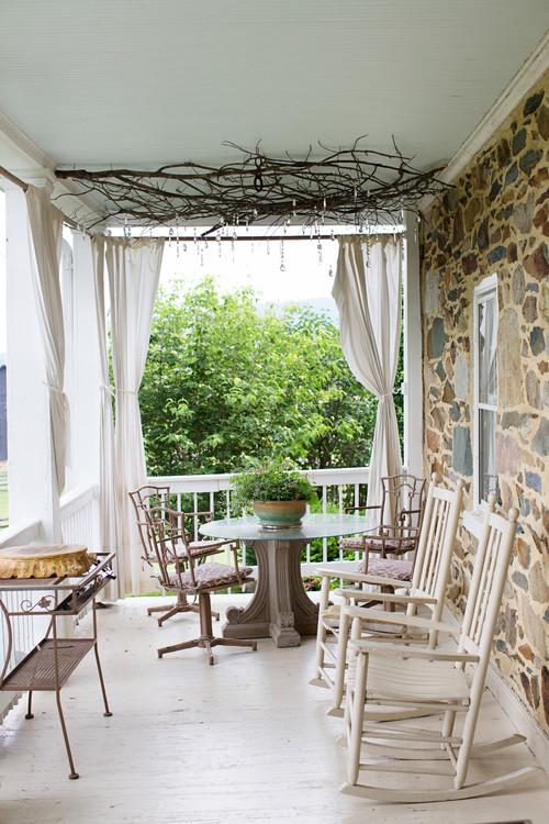Rustic Farmhouse Porch