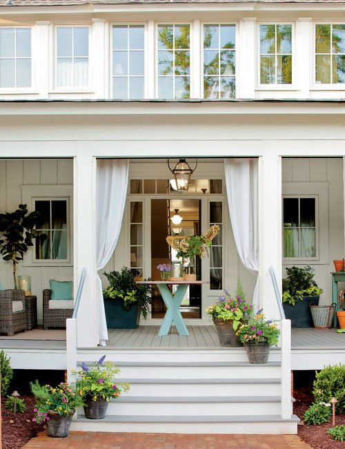 Farmhouse Porch and Summer Living