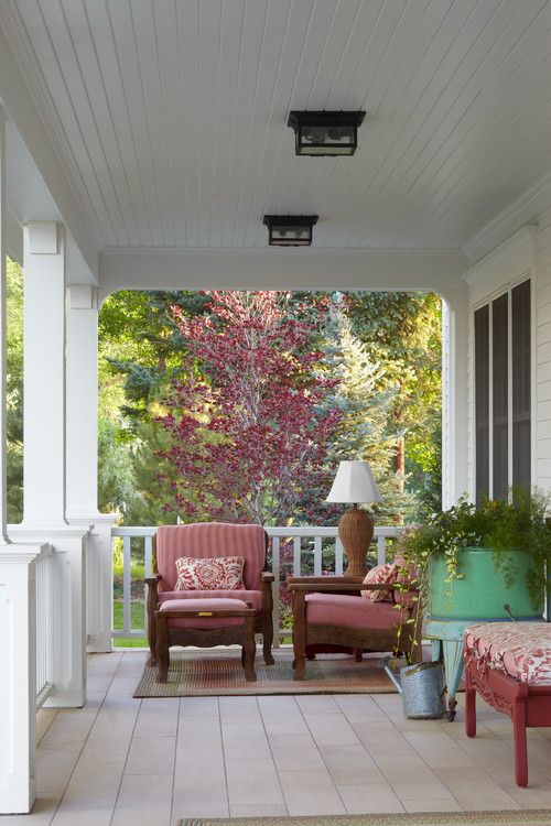 Modern Country Farmhouse Porch