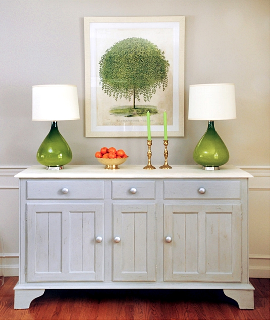 Blue Sideboard Cabinet