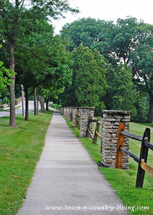Rustic Park Fence