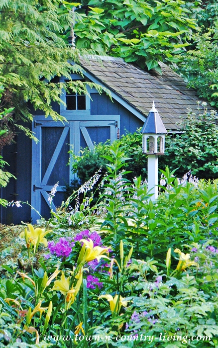 Garden Shed with Cottage Garden