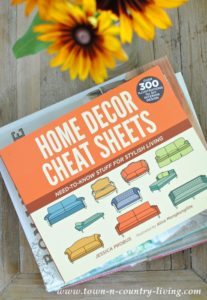 Home Decor Cheat Sheets and Giveaway