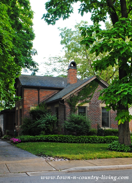 Simple Historic Brick Home