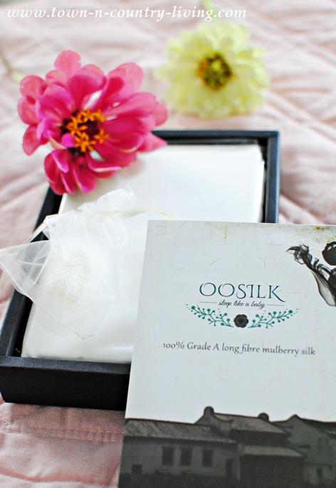 White Oosilk Pillowcases