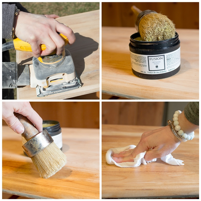 How to Revive Wood with Beeswax