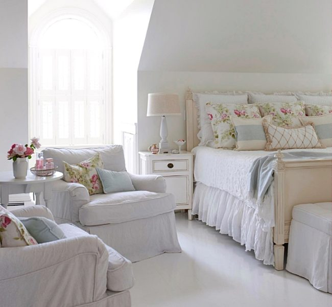 Cute Shabby Chic Bedroom