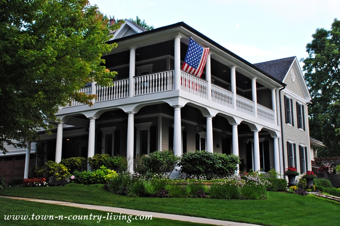 Wrap Around 2-Story Porch Just Like the Old South