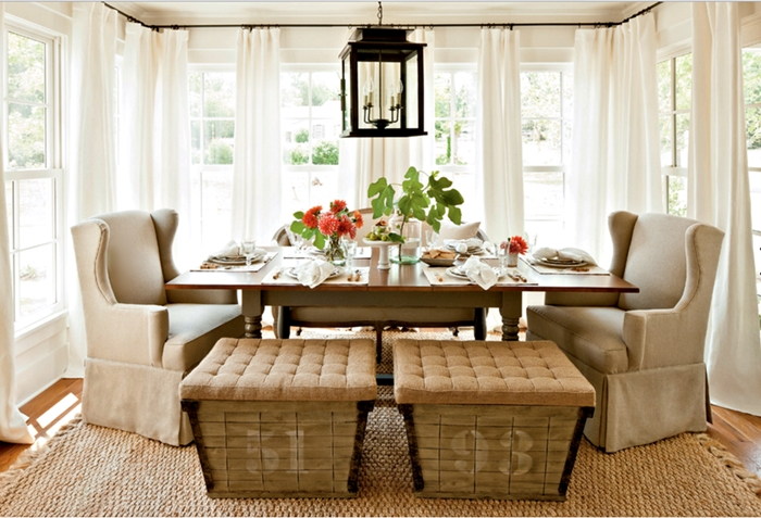 Southern Farmhouse Dining Room