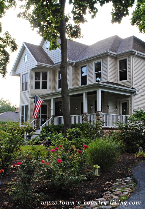 Victorian House in Pottawatomie Park District of St. Charles, Illinois