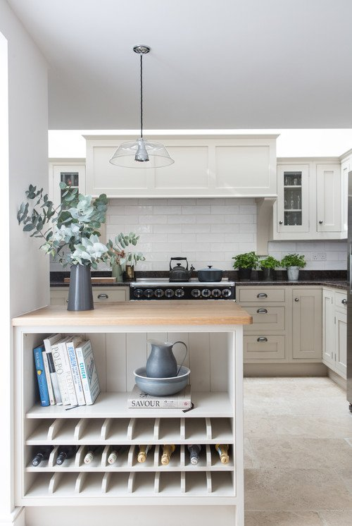 Kitchen in a Cornwall Beach House