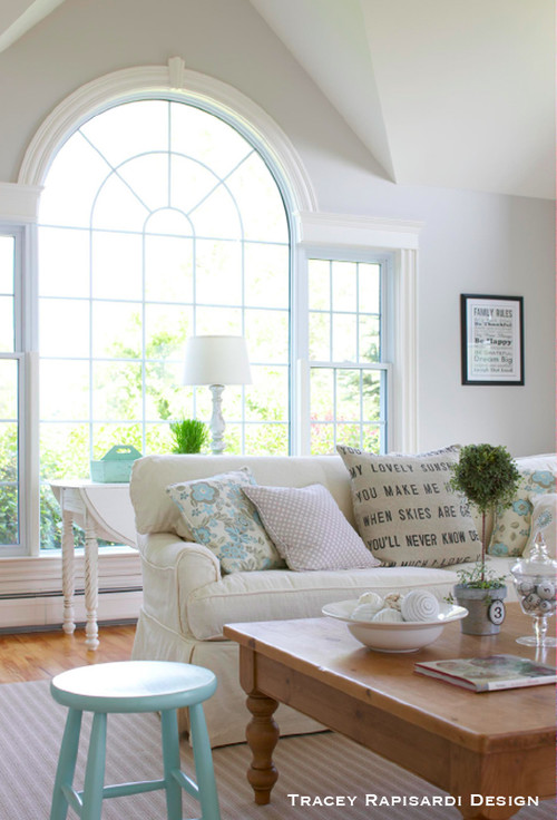 Palladian Window in Living Room
