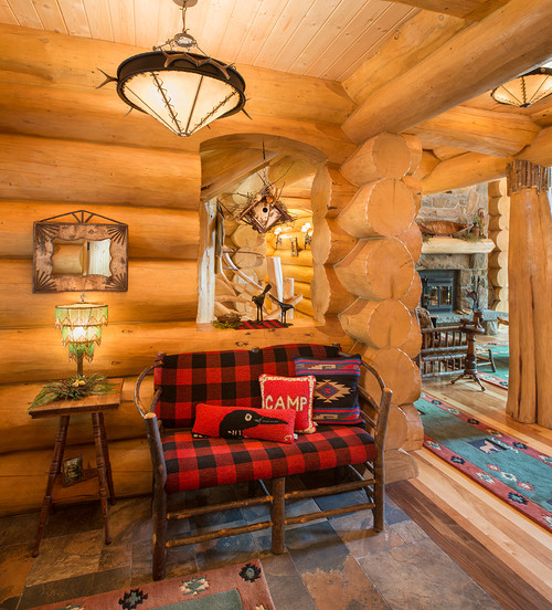 Log Cabin Foyer