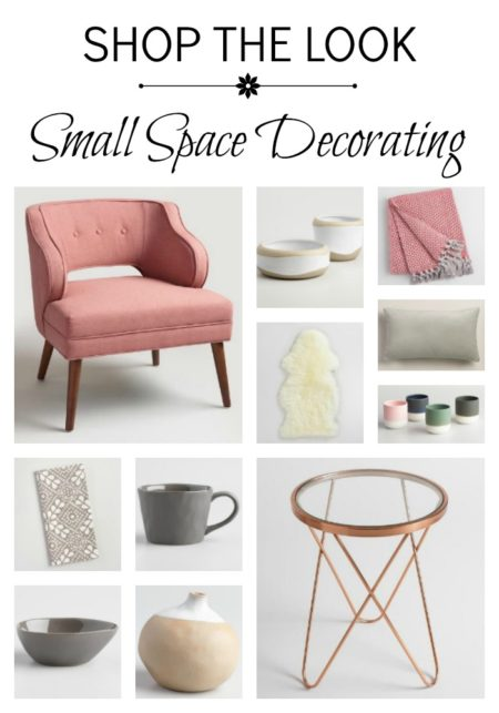 Shop the Look for a Cozy Reading Nook. Small Space Decorating