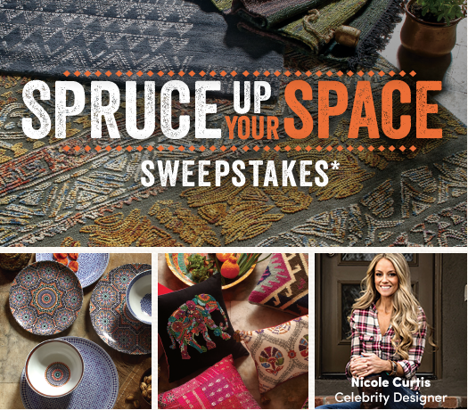 Spruce Up Your Space Sweepstakes from World Market