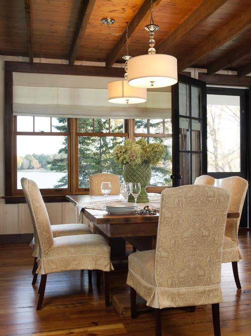 Minnesota Lake House Dining Room