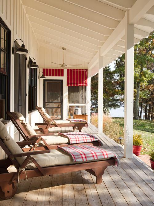 Lake House Porch