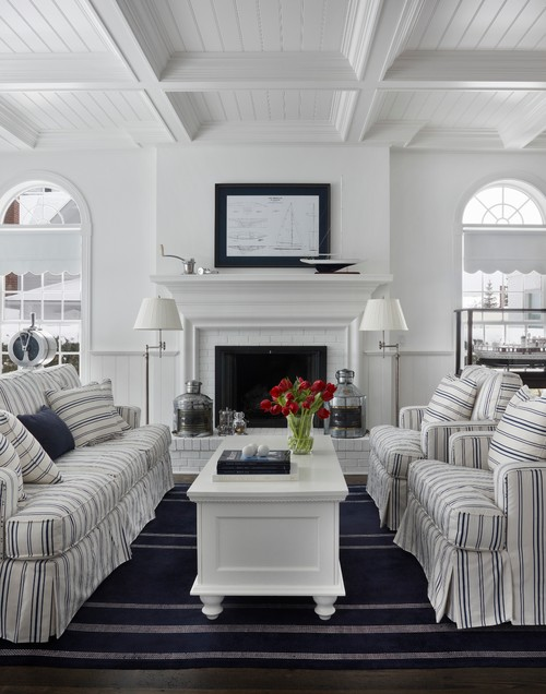 Coastal Style Living Room