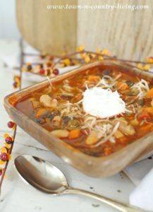 Black and White Chili: Enjoying a Little Me Time
