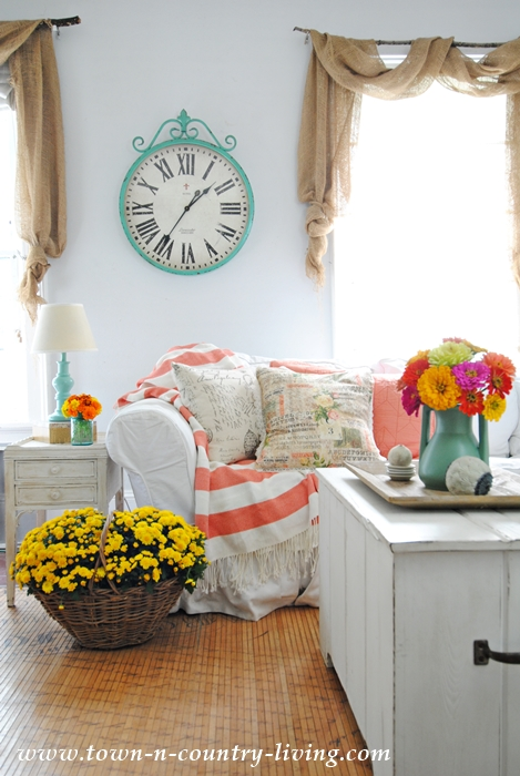 Color in the Family Room