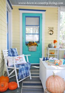 My Fall Front Porch: Dining Al Fresco