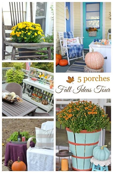 Fall Porch Tour - Decorating Ideas