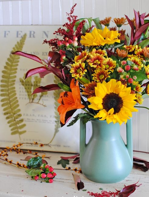 Flower Arranging Tips for Fall Bouquets
