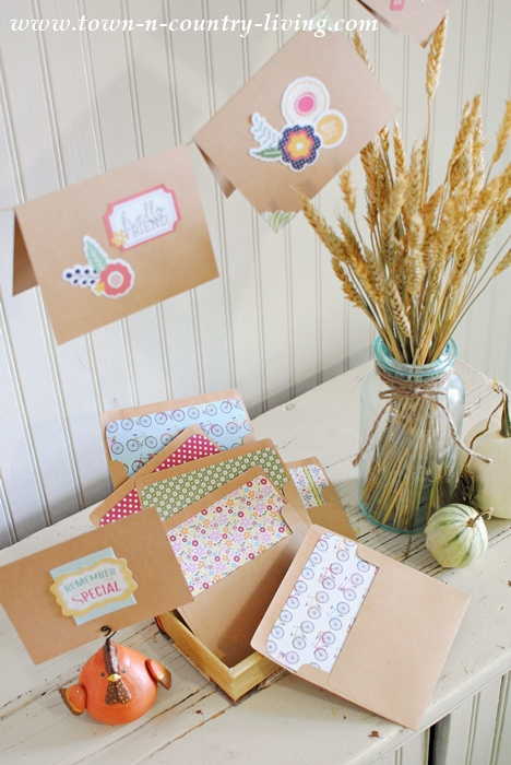 Handcrafted Note Cards. See How to Make Your Own!