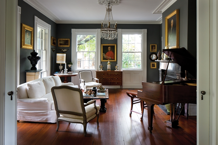 Front Parlor found in the historic Augustus Taft home