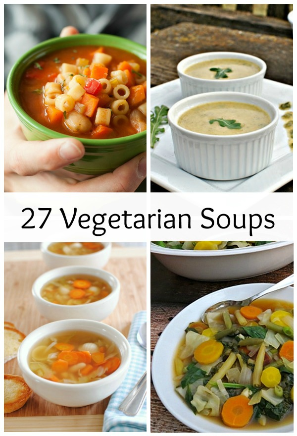 Vegetarian Soups to Enjoy