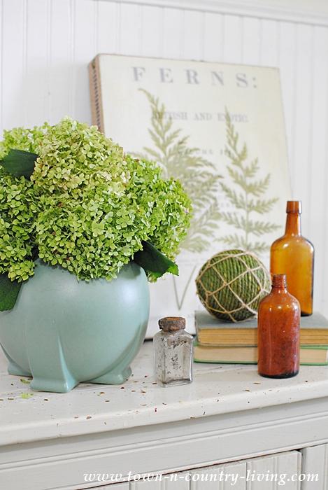 Teco Art Pottery - the Orb Vase