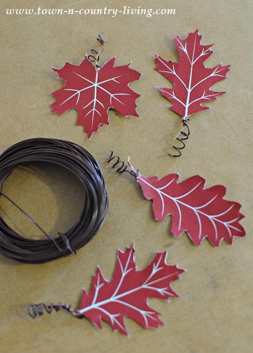 Free Printable to Create Leaf Tags