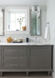 A Collection of Bathroom Vanities