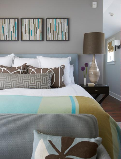 Master Bedroom in Oceanfront House