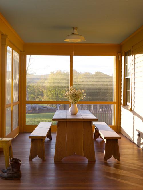 Farmhouse Screened In Porch