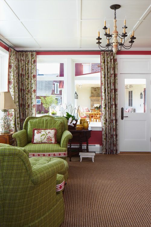 Colorful Farmhouse Sunroom