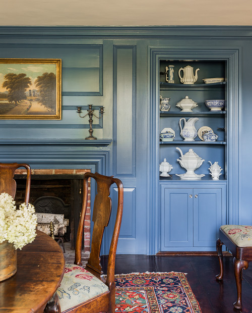 Colonial Dining Room: Colonial Farmhouse: Charming Home Tour