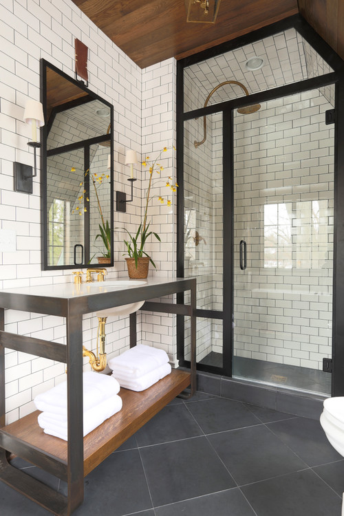 Ideal Transitional Style Bathroom