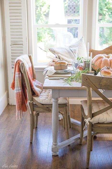 Fall Tablescape at Ella Claire