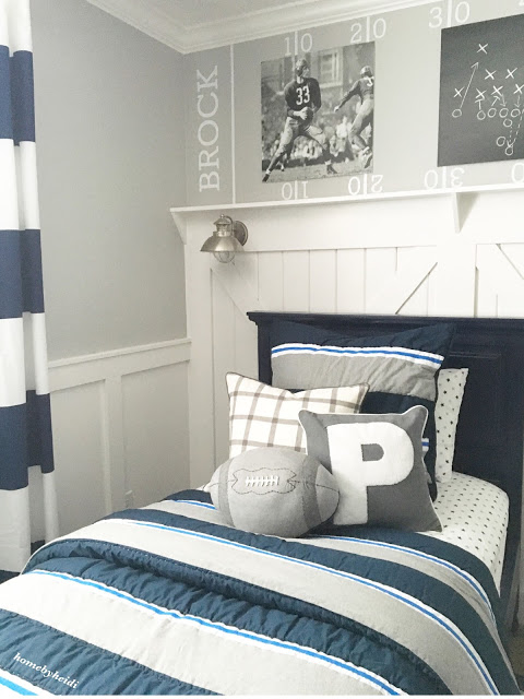 Home by heidi charming home tour town country living for Boys country bedroom ideas