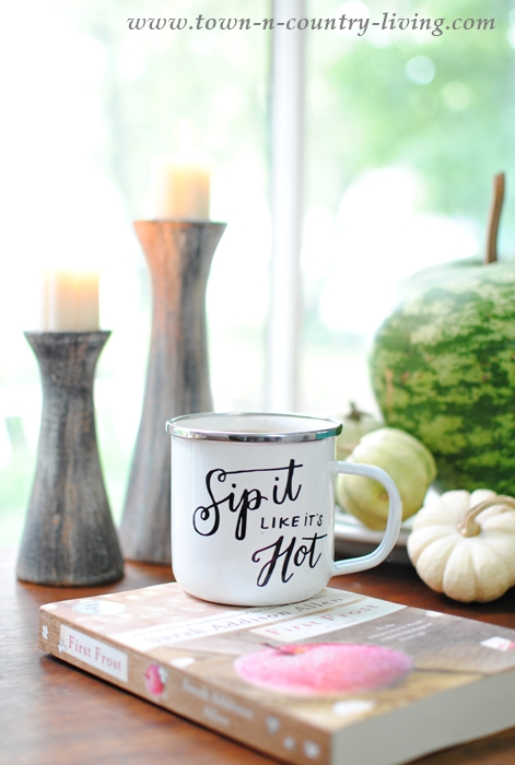 Sip It Like It's Hot Enamelware Mug