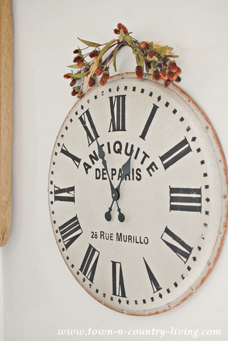 french wall clock for the family room town country living