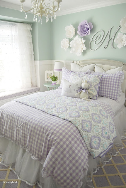 Home by Heidi: Charming Home Tour - Town & Country Living on Beautiful:9Ekmjwucuyu= Girls Room Decoration  id=77824